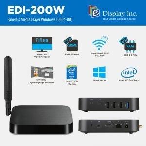 EDI-200W Media Player
