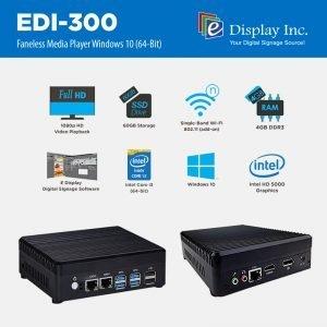 EDI 300 Media Player