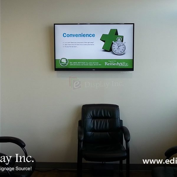 Pharmacy Digital Signage