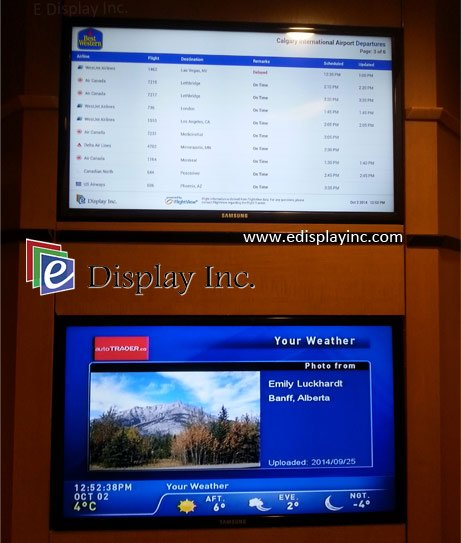 Hotel Digital Signge