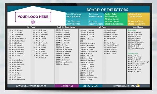 Digital Directory