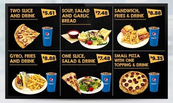 Fast Food Digital Menu