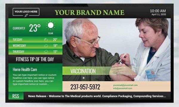 Clinic Digital Signage