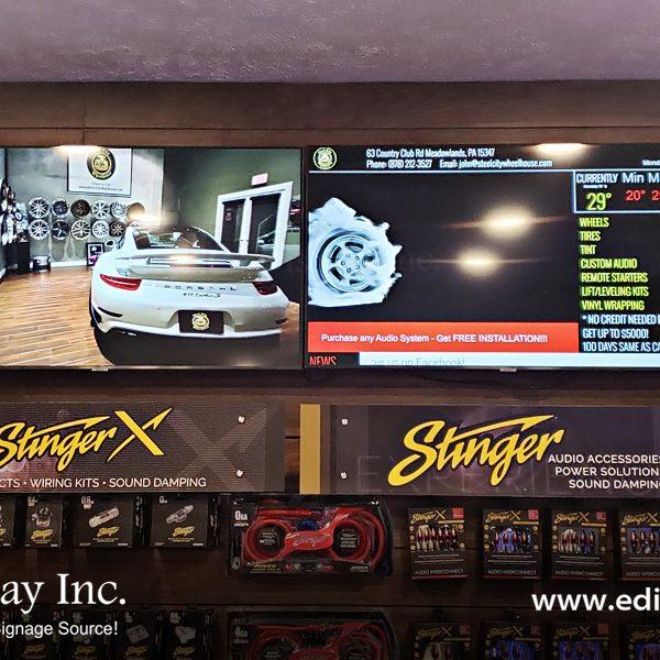 Auto Digital Signage