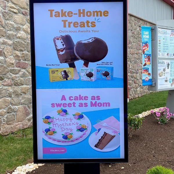 Dairy Queen Digital Drive Thru Menu